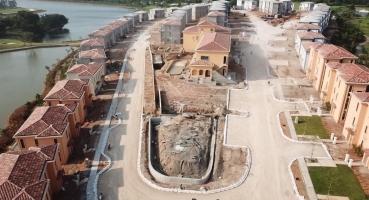 khu nghỉ dưỡng với biệt thự mái ngói địa trung hải - Hải Long Tiles